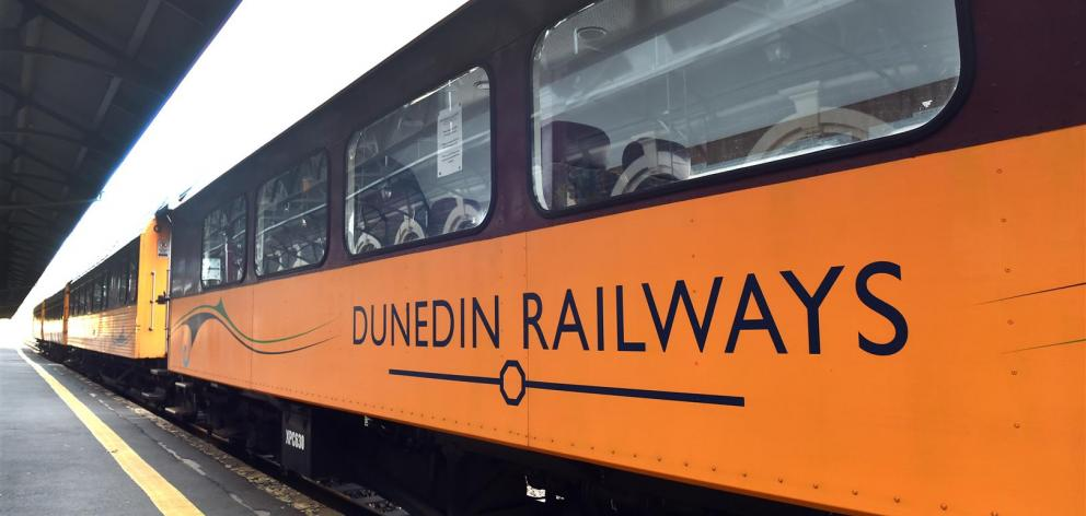 The Dunedin Railways operation is the latest victim of the Covid-19 crisis. PHOTO: PETER MCINTOSH