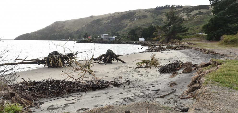 Te Rauone beach near Otakau. Photo: Peter McIntosh