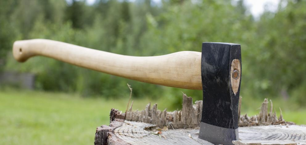 "After looking in the immediate vicinity, Henriksen ""armed himself with an axe"". Photo: Getty..."