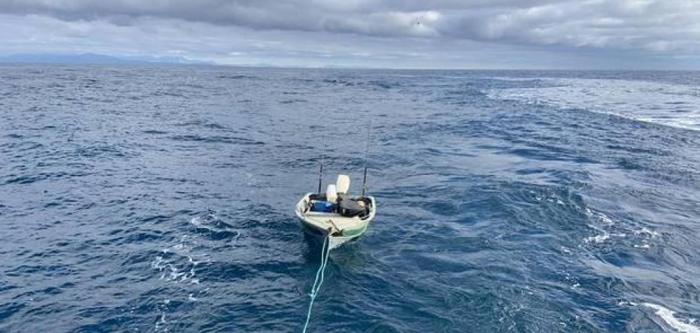 A young man has had a lucky escape after becoming stuck off the Mana Coast following an overnight...