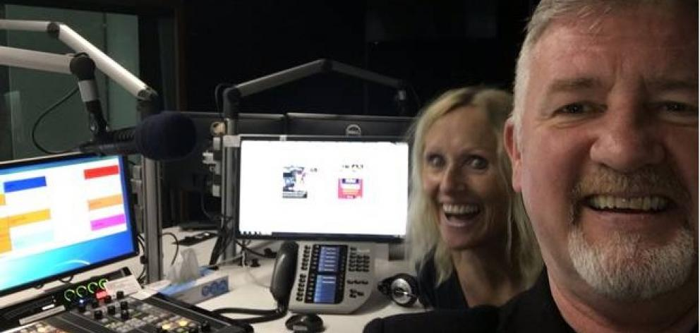 Dave Dunlay has co-hosted The Breeze breakfast show in Christchurch since 2017. Photo: Twitter