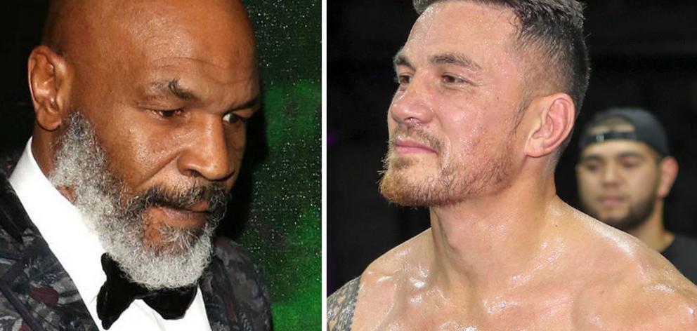 Mike Tyson v Sonny Bill Williams? Photo: NZ Herald