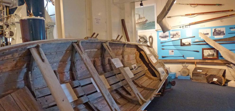Part of the display on the whaling industry. Photos: Sara Keen