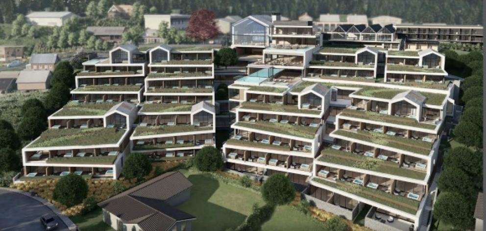 City Hall's recommended consent for Coherent Hotel Ltd's whopping hotel, proposed for Fernhill, be declined. Photo: Supplied