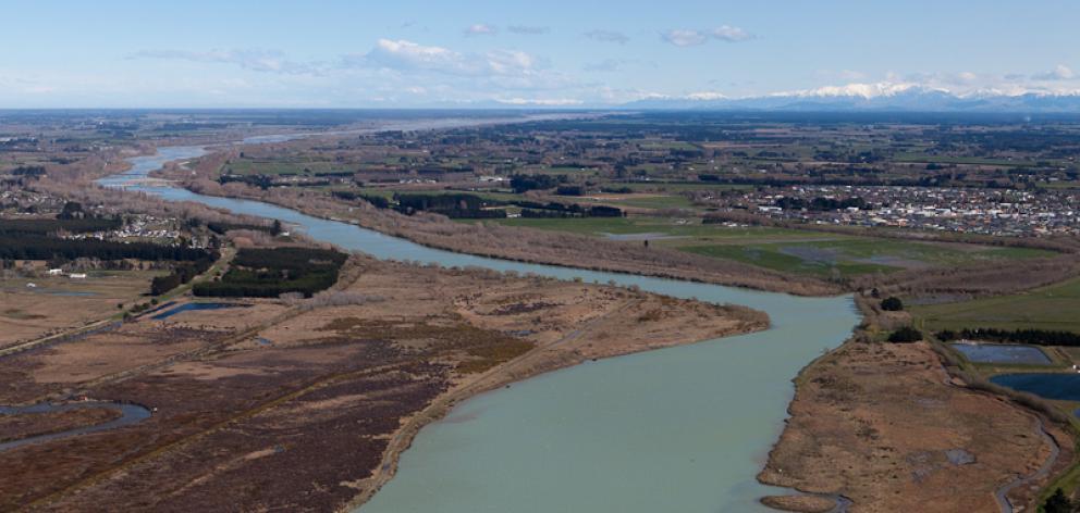 The Waimakariri River. Photo: Wikimedia Commons