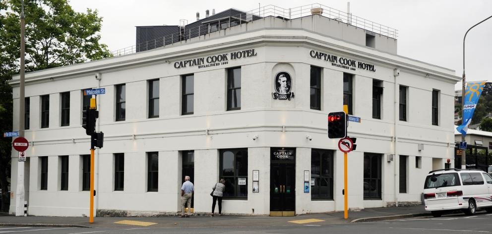 Potential customers will have to wait a little longer before the Captain Cook Hotel reopens....