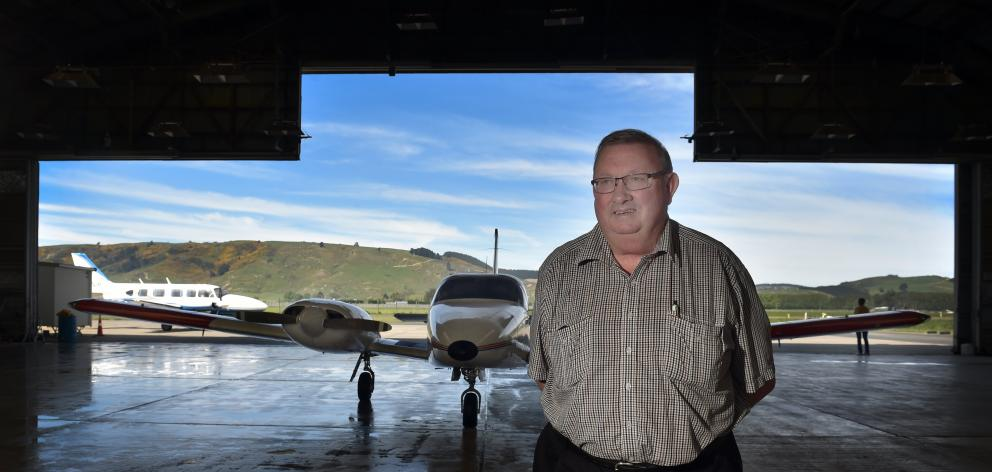 Mainland Air and Mainland Aviation College chief executive Philip Kean is trying to remain...