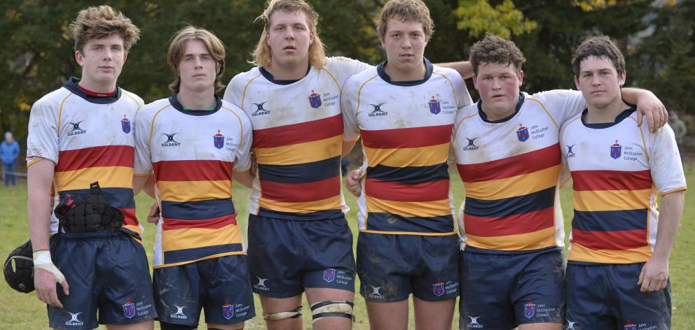 The three sets of brothers who play for the John McGlashan College first XV forward pack are ...