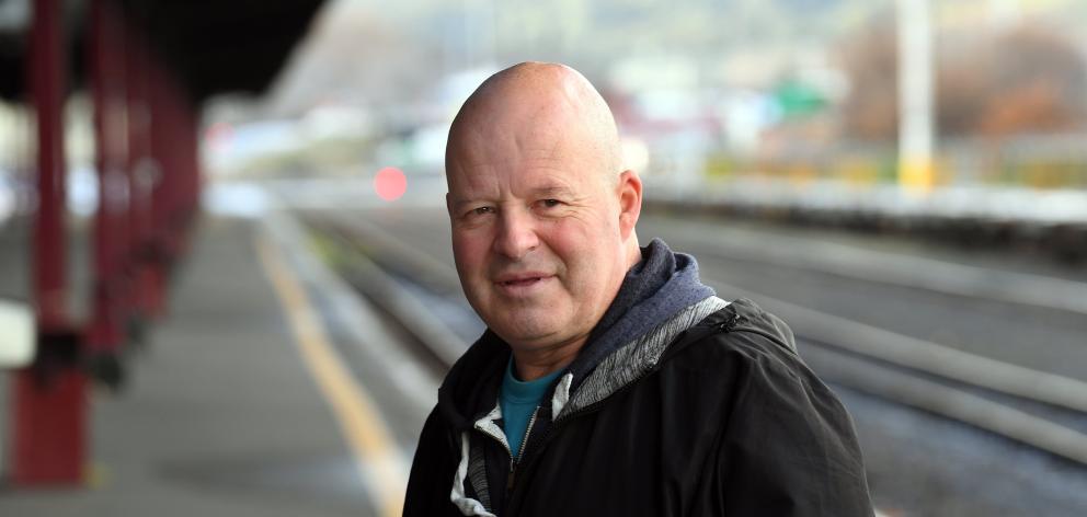 Paul Jeffery, who has lost his job of 30 years with Dunedin Railways. PHOTO: STEPHEN JAQUIERY