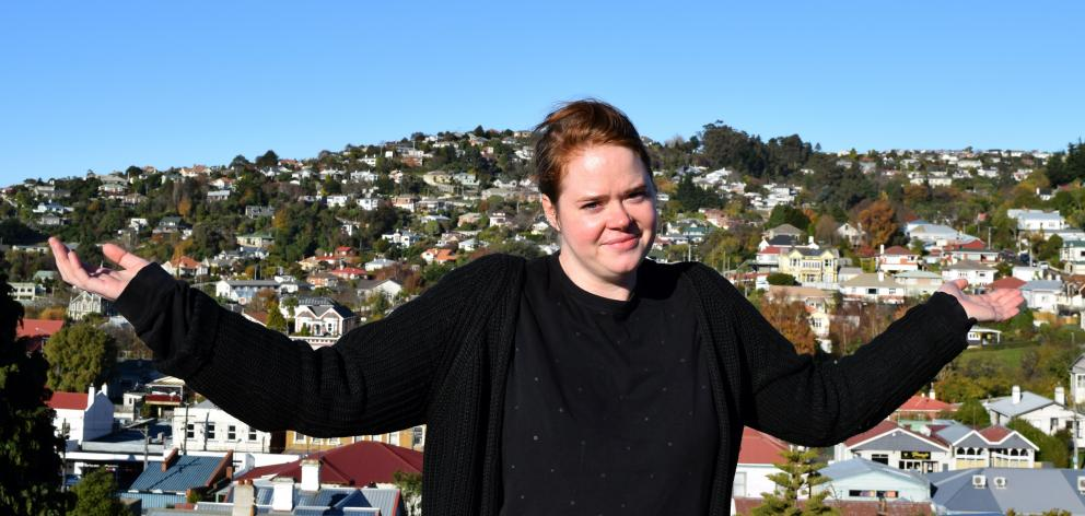 First-time home buyer Alison Conroy (29) is struggling to find a house for sale cheaper than $400,000 in Dunedin to be eligible for the Government's First Home Grant. PHOTO: SHAWN MCAVINUE