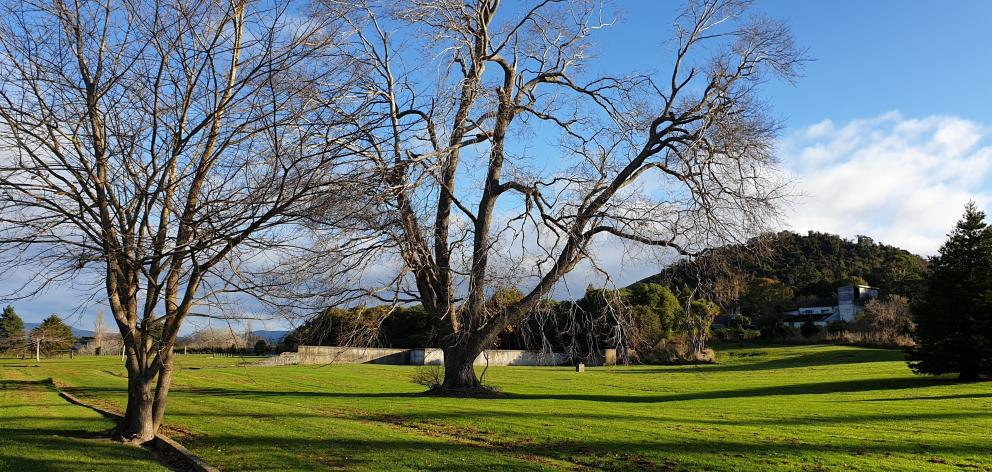 The site of the Seacliff Lunatic Asylum. Photos: Clare Fraser