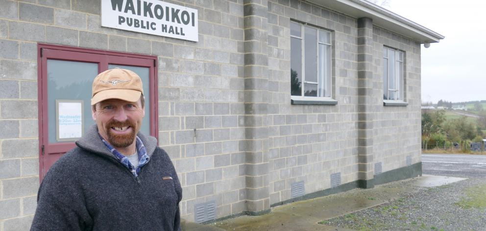Waikoikoi Public Hall secretary Geoff Stark says unsustainable running costs may force the...