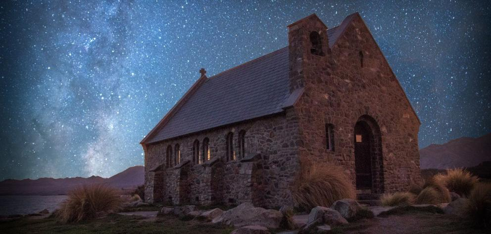 Church of the Good Shepherd. PHOTO: TEKAPO SPRINGS