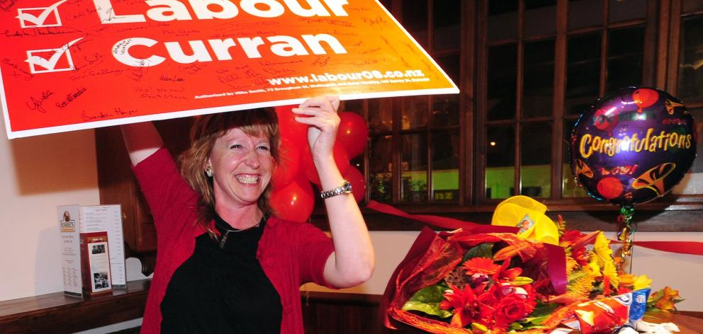 On election night in 2008. PHOTO: CRAIG BAXTER
