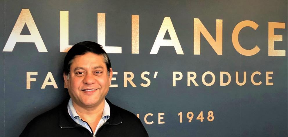 Alliance Lorne- ville plant manager Shashank Pande is enjoying the Southland lifestyle. Photo: Supplied