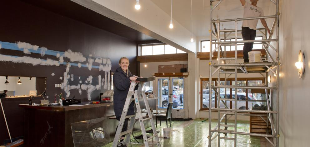 Penelope Baldwin and Nick Maguire are hands-on transforming the former Reef Seafood Restaurant &...