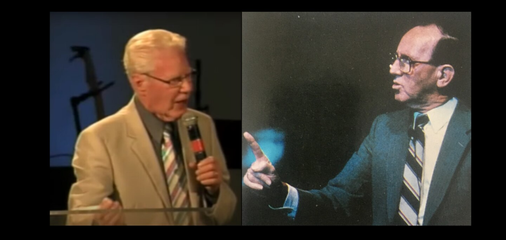 Assemblies of God leaders Jim Williams (left) and Frank Houston are alleged to have sexually...