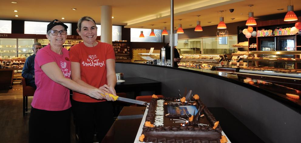 Clare Rae (left) and cafe manager Maxine Goodman, who have been with Artisan since it opened 10...