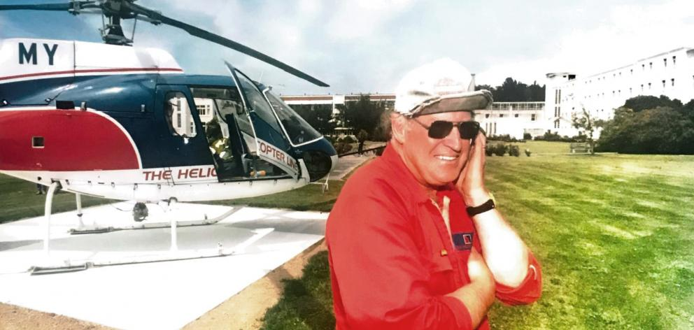 Te Anau pilot Bill Black died on Wednesday. PHOTO: SUPPLIED