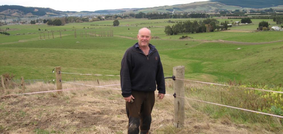 Shane David Gibbons on his Whare Creek farm. PHOTOS: SUPPLIED