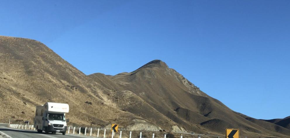 There were still some campervans traversing the Lindis Pass last week, but noticeably fewer than...