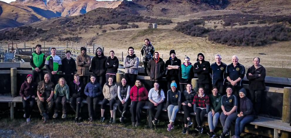 Elite Wool Industry Training Ltd's co-director Tom Wilson ran a wool harvester course for 22...
