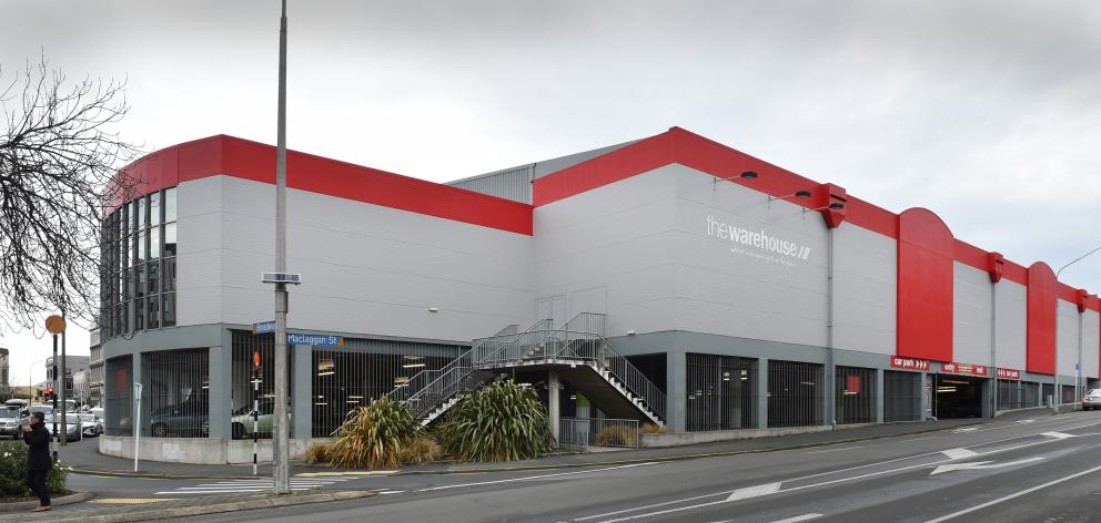 Staff at The Warehouse in central Dunedin have until Friday to give their thoughts on the...