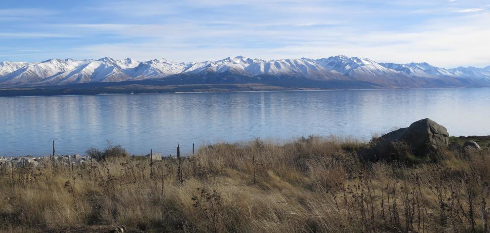 Lake Pukaki is overshadowed by Aoraki Mt Cook and the Southern Alps. PHOTOS: MIKE YARDLEY