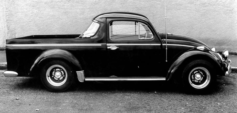 He also hand built a black pick-up Beetle combo to look as if it could have come straight from...