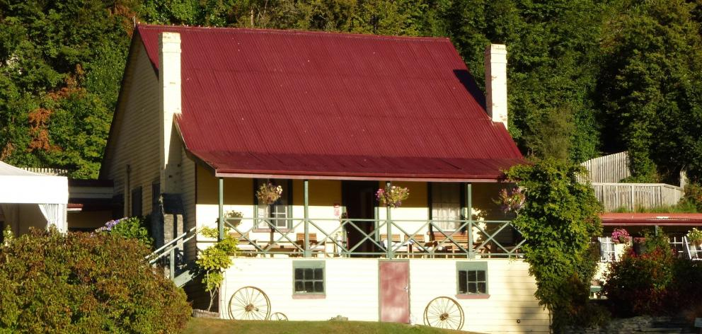 Historic Kinloch Lodge at the head of Lake Wakatipu. PHOTO: JUSTINE TYERMAN