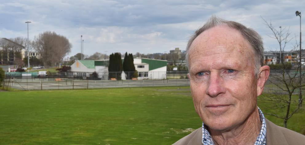 Tennis Otago chairman John Alexander.PHOTO: GREGOR RICHARDSON