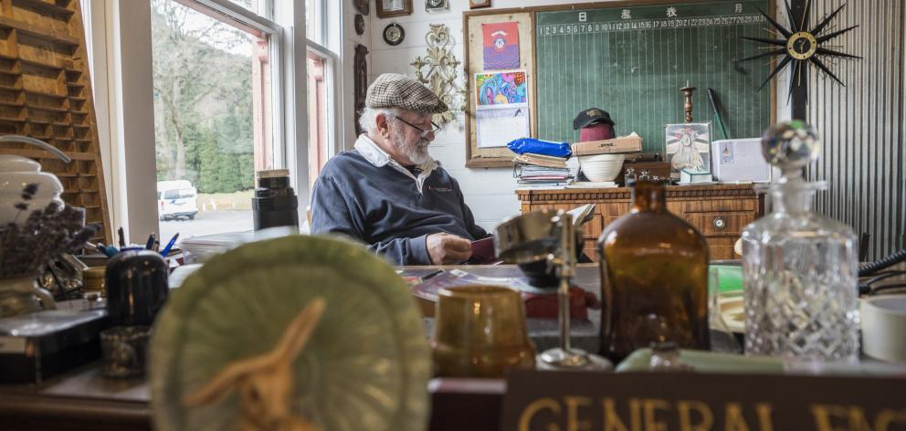 Hunt for antiques at the Reefton Coffin Co.