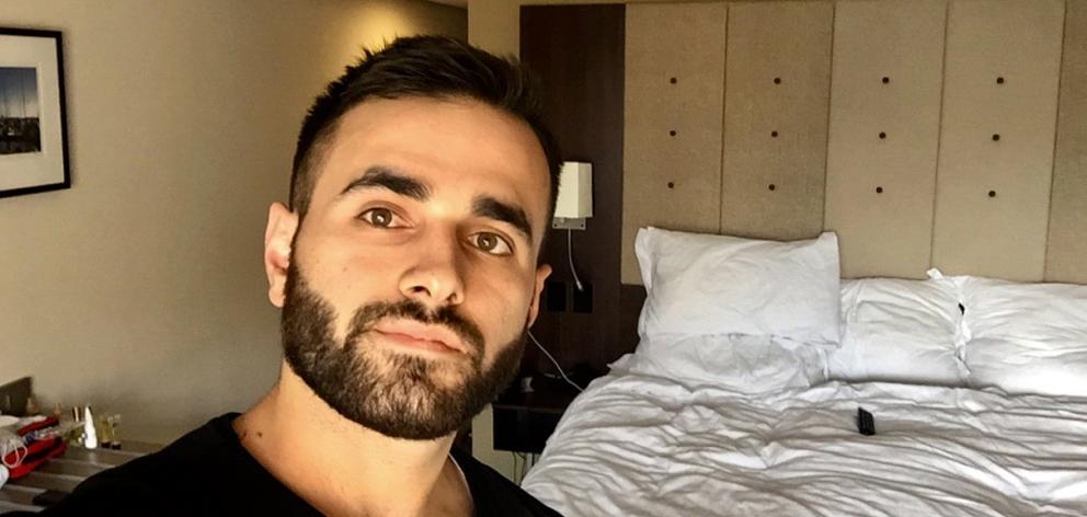 Dunedin man Mustafa Boztas is quarantining in Auckland as he waits to face the Christchurch...