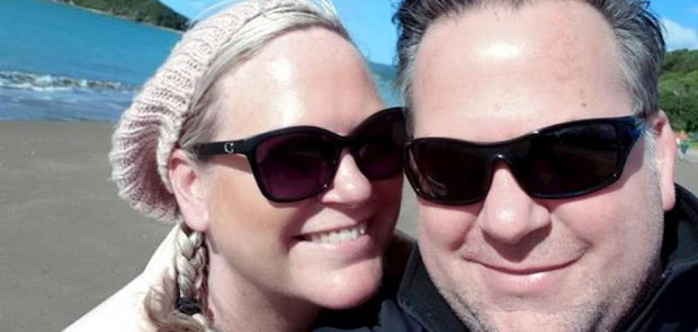 Joseph and Julie Moon are moving to the United States where the drug keeping Julie alive only costs $700 a month. Photo: Supplied via NZ Herald