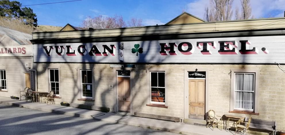 The landmark Vulcan Hotel and focal point of St Bathans is closed for the first time in 140 years...