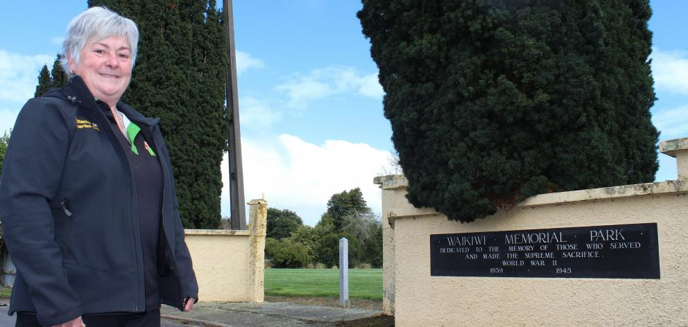 Southland memorial specialist Ann Robbie wonders where the Waikiwi war memorial gates have gone....