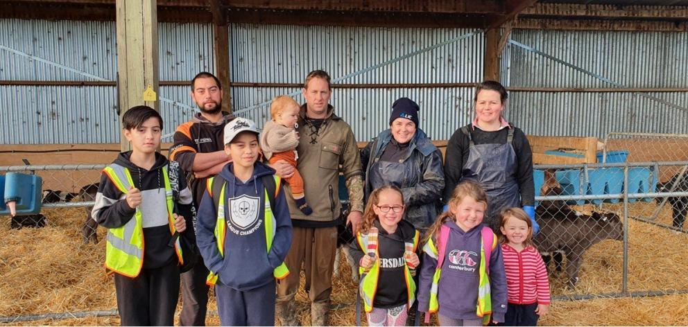 It takes a team to run Simon and Janine Hopcroft's 750-cow dairy farm at Riversdale. It includes ...