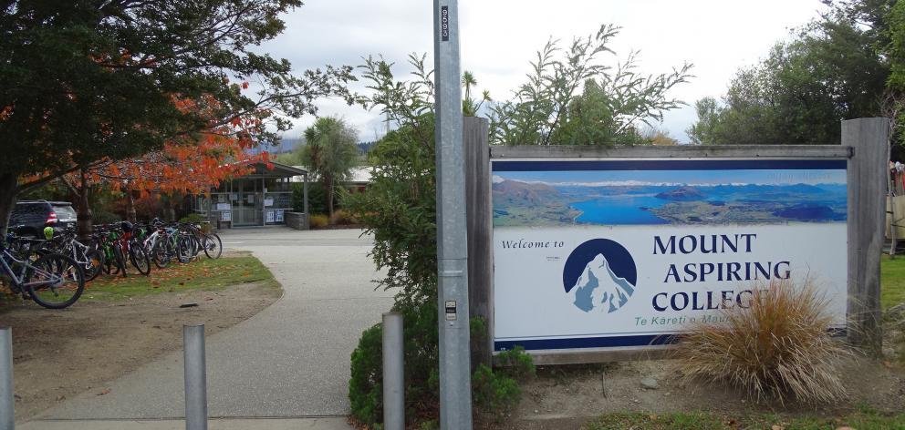 Mount Aspiring College in Wanaka. PHOTO: KERRIE WATERWORTH