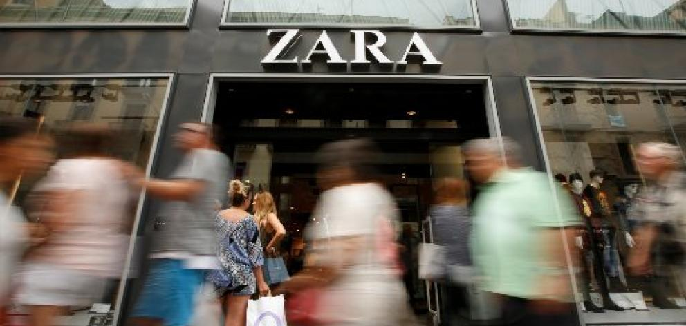 Many fashion retailers, including Zara owner Inditex, encourage shoppers to bring unwanted...