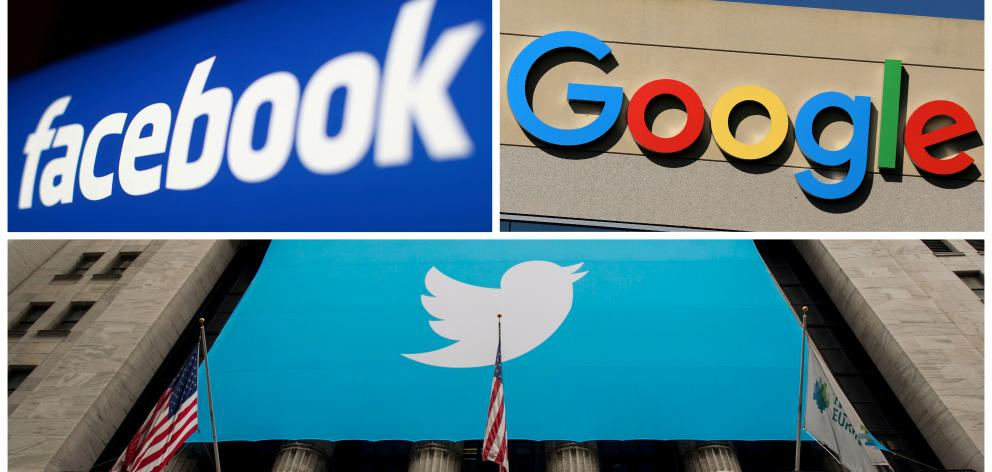 The CEOs of Twitter, Facebook and Alphabet's Google say Section 230 gives them the tools to...