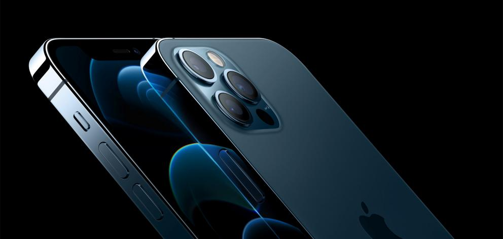 Apple's iPhone 12 Pro and iPhone 12 Pro Max are seen in an illustration released in Cupertino. Photo: Apple Inc./Handout via Reuters