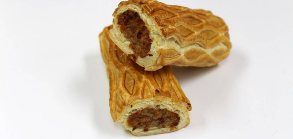 Goldstar Patrick's Pies has won national recognition for its sausage rolls. Photo / Supplied