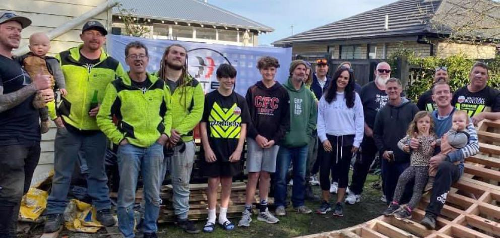 Builders and members of the Hey Bro - The Kiwi Brotherhood online group teamed up to build the...