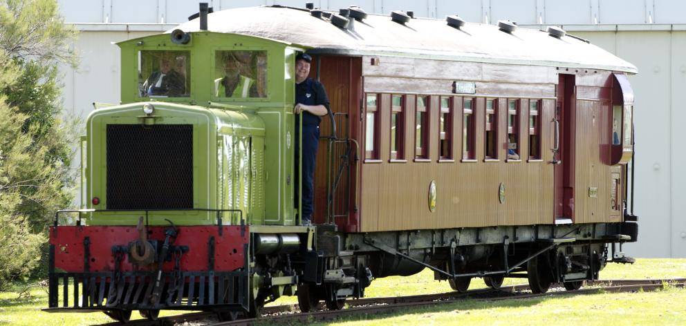 The familiar sight of Ocean Beach Railway stock on the move can be viewed once more from across...