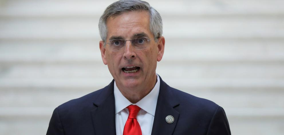 Georgia Secretary of State Brad Raffensperger. Photo: Reuters