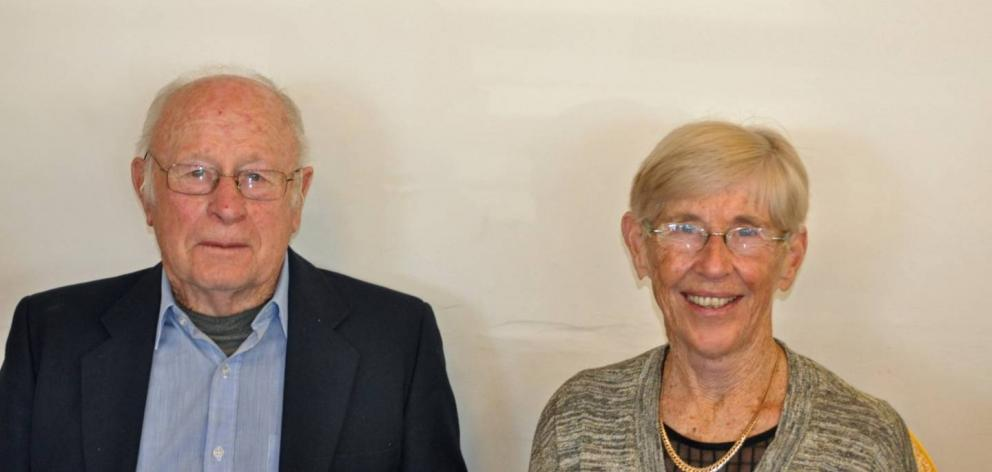 Alan and Joan Sleight. Photo: Supplied via NZ Herald