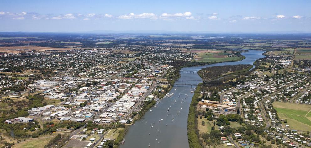 Aerial view of Bundaberg, Queensland, Australia - stock photo Getty Images