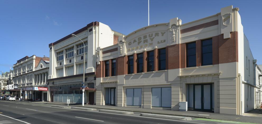 The former Cadbury dairy building will remain, despite the new Dunedin ...