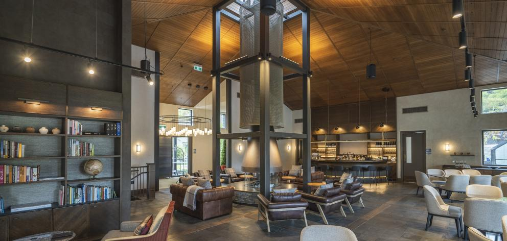 Gibbston Valley Lodge and Spa.