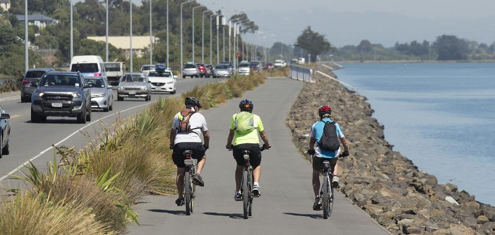 A 4m-wide section will complete the Christchurch Coastal Pathway. It will be accessible to a...